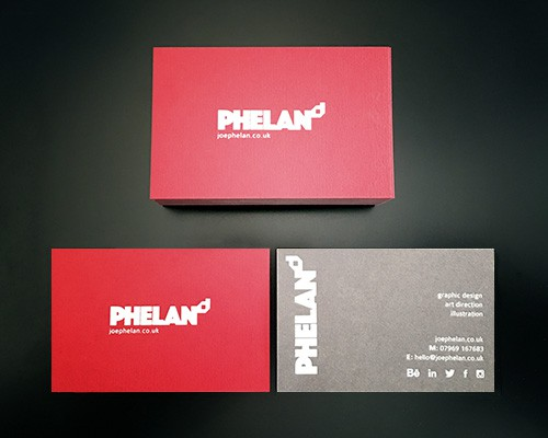 PHELANd Business Cards