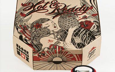 Pizza Box Projector