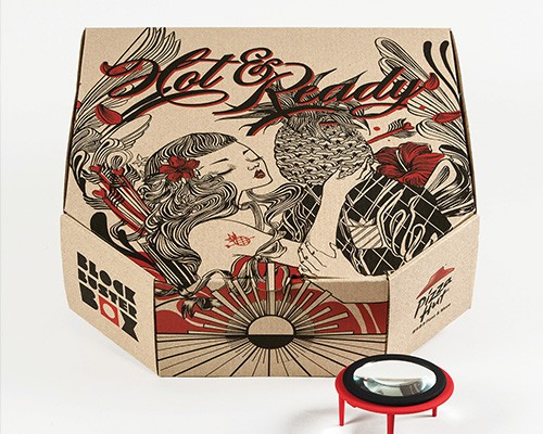 Pizza Box Projector