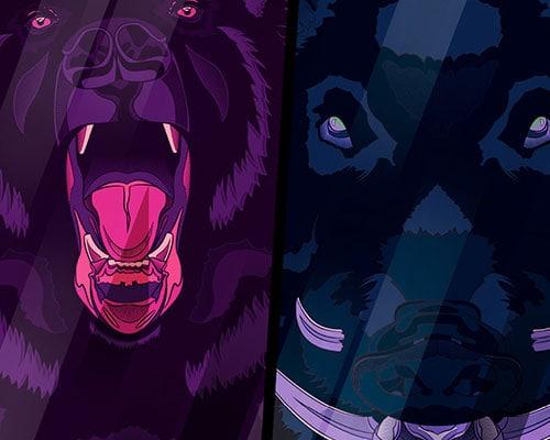 Wildlife Illustrations Part 1